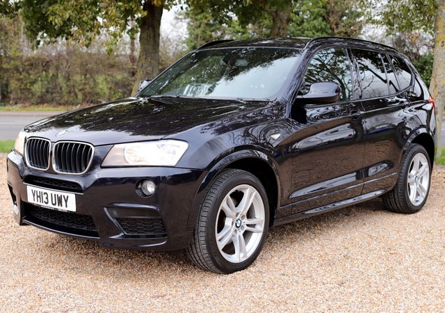 2013 13 BMW X3 2.0 XDRIVE20D M SPORT 5d AUTOMATIC 181 BHP/ HEATED SEATS/ CRUISE CONTROL