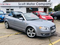 USED 2006 56 AUDI A4 2.0 T FSI S Line Convertible