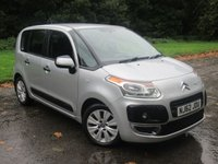 USED 2012 62 CITROEN C3 PICASSO 1.6 PICASSO VTR PLUS HDI 5d 91 BHP LOW MILEAGE FAMILY CAR