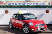 2012 MINI HATCH COOPER 1.6 COOPER 3d 122 BHP £5000.00