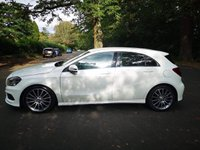 USED 2014 14 MERCEDES-BENZ A CLASS 2.1 A220 CDI BLUEEFFICIENCY AMG SPORT 5d AUTO 170 BHP CALL OUR SUPER FRIENDLY TEAM FOR MORE INFO 02382 025 888