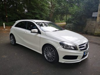 2014 MERCEDES-BENZ A CLASS 2.1 A220 CDI BLUEEFFICIENCY AMG SPORT 5d AUTO 170 BHP £13500.00