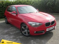 USED 2013 63 BMW 1 SERIES 1.6 116I SPORT 5d 135 BHP * 12 MONTHS FREE AA MEMBERSHIP * 128 POINT AA INSPECTED *