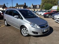 USED 2011 11 VAUXHALL ZAFIRA 1.7 ELITE CDTI ECOFLEX 5d 108 BHP LOW MILEAGE 7 SEAT DIESEL IN EXCEPTIONAL CONDITION
