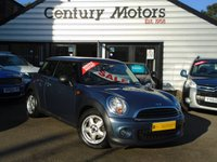 2010 MINI HATCH ONE 1.6 ONE 3d + ALLOYS + A/C £3790.00