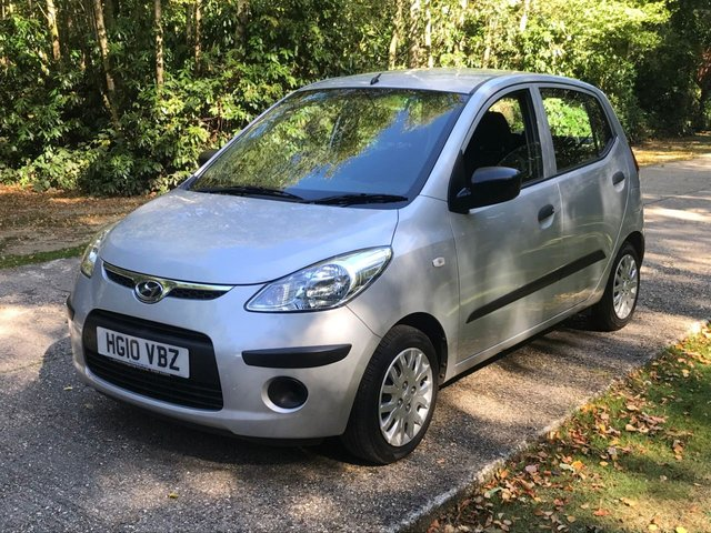 USED 2010 10 HYUNDAI I10 1.2 CLASSIC 5d 77 BHP DEALER PX TO CLEAR LONG MOT GOOD DRIVE