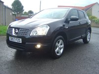 USED 2007 57 NISSAN QASHQAI 2.0 ACENTA 5d 140 BHP ///  EXCELLENT VALUE FOR MONEY   ////