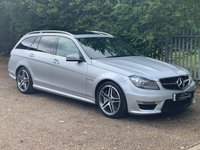 USED 2013 63 MERCEDES-BENZ C CLASS 6.2 C63 AMG 5d AUTO 457 BHP One Former Keeper