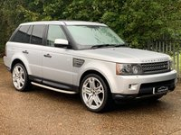 2010 LAND ROVER RANGE ROVER SPORT 5.0 SUPERCHARGED V8 HSE 5d AUTO 510 BHP £16995.00