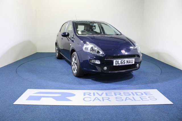 USED 2015 65 FIAT PUNTO 1.2 EASY PLUS 5d 69 BHP