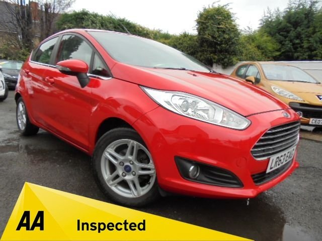 USED 2013 63 FORD FIESTA 1.2 ZETEC 5d 81 BHP FULL FORD SERVICE HISTORY