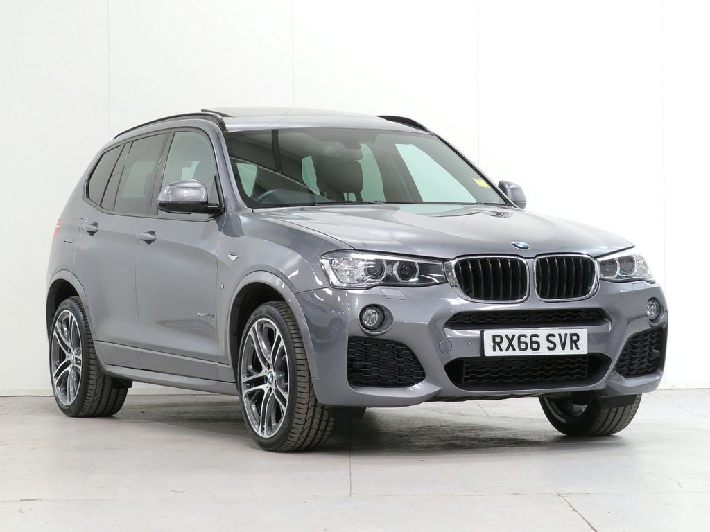 USED 2016 66 BMW X3 2.0 xDrive20d M Sport PLUS Auto [£7,285 OPTIONS] PRONAV HEADUP CAM HARMAN XENON