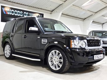 2012 LAND ROVER DISCOVERY 3.0 SDV6 HSE LUXURY 5d AUTO 255 BHP £18680.00