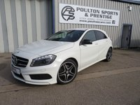 USED 2014 14 MERCEDES-BENZ A CLASS 2.1 A220 CDI BLUEEFFICIENCY AMG DIESEL SPORT 5d 170 BHP + 18's