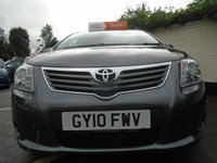 USED 2010 10 TOYOTA AVENSIS 1.8 TR VALVEMATIC 5d AUTOMATIC 145 BHP GUARANTEED TO BEAT ANY 'WE BUY ANY CAR' VALUATION ON YOUR PART EXCHANGE