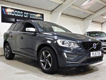 2015 VOLVO XC60 2.0 D4 R-DESIGN NAV 5d 188 BHP £12980.00