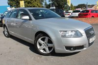 USED 2007 07 AUDI A6 2.4 SE 5d AUTO 174 BHP EXCELLENT SERVICE HISTORY - 8 STAMPS INCLUDING A RECENT GEARBOX SERVICE