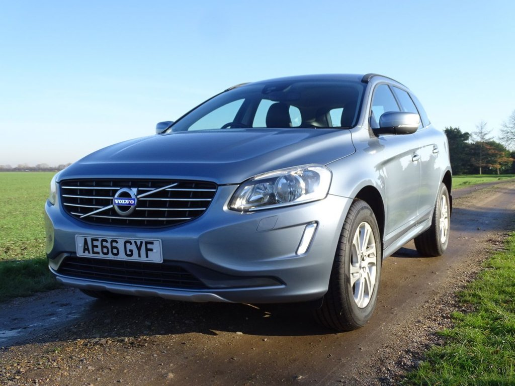 USED 2016 66 VOLVO XC60 2.0 D4 SE SAT NAV 5d 188 BHP Full Leather