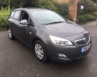 2011 VAUXHALL ASTRA 1.4 EXCLUSIV 5d 98 BHP £2999.00