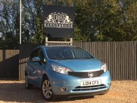 2014 NISSAN NOTE 1.2 TEKNA DIG-S 5dr AUTO