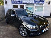2016 BMW 1 SERIES 2.0 118D SE 5d 147 BHP £10995.00