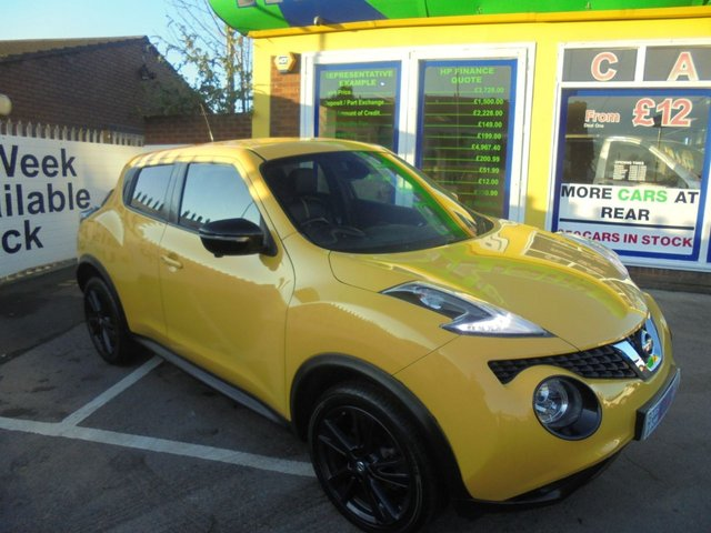 USED 2015 15 NISSAN JUKE 1.6 TEKNA DIG-T 5d 190 BHP ** 1 OWNER FROM NEW **