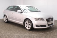 USED 2009 09 AUDI A3 1.6 MPI SPORT 3DR 101 BHP SERVICE HISTORY + CLIMATE CONTROL + MULTI FUNCTION WHEEL + RADIO/CD/AUX + ELECTRIC WINDOWS + ELECTRIC MIRRORS + 17 INCH ALLOY WHEELS