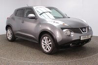 USED 2011 11 NISSAN JUKE 1.5 ACENTA SPORT DCI 5DR 1 OWNER 110 BHP FULL SERVICE HISTORY + BLUETOOTH + CRUISE CONTROL + CLIMATE CONTROL + MULTI FUNCTION WHEEL + RADIO/CD/AUX/USB + PRIVACY GLASS + ELECTRIC WINDOWS + ELECTRIC MIRRORS + 17 INCH ALLOY WHEELS