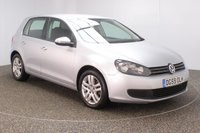 USED 2009 59 VOLKSWAGEN GOLF 1.6 SE TDI 5DR 103 BHP FULL SERVICE HISTORY + £30 12 MONTHS ROAD TAX + CRUISE CONTROL + AIR CONDITIONING + RADIO/CD/AUX/USB + ELECTRIC WINDOWS + ELECTRIC MIRRORS + 16 INCH ALLOY WHEELS