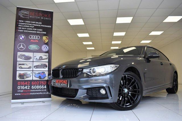 2015 15 BMW 4 SERIES 430D 3.0 XDRIVE M SPORT GRAN COUPE AUTOMATIC