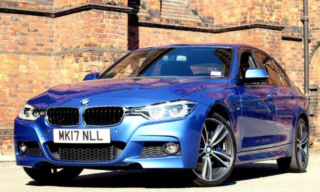 2017 17 BMW 3 SERIES 3.0 335D XDRIVE M SPORT 4d AUTO 308 BHP [ PRONAV ]
