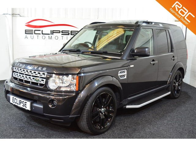 2013 62 LAND ROVER DISCOVERY 3.0 SDV6 HSE LUXURY 5d AUTO 255 BHP