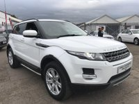 USED 2012 62 LAND ROVER RANGE ROVER EVOQUE 2.2 ED4 Pure Tech 2WD 5dr PAN ROOF+SAT NAV+BLUETOOTH