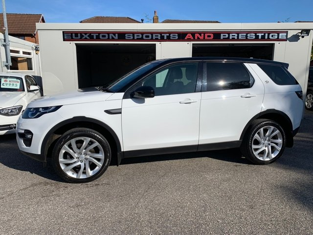 LAND ROVER DISCOVERY SPORT at Euxton Sports and Prestige