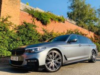 USED 2017 67 BMW 5 SERIES 2.0 520d M Sport Touring Auto (s/s) 5dr PERFORMANCEKIT+20S+HTDSTEERING