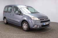 USED 2012 12 CITROEN BERLINGO 1.6 MULTISPACE AIRDREAM VTR EGS E-HDI 5DR AUTO 91 BHP + WHEEL CHAIR ACCESS WITH RAMP +  FULL SERVICE HISTORY + WHEEL CHAIR ACCESSIBLE VEHICLE + PARKING SENSOR + CRUISE CONTROL + MULTI FUNCTION WHEEL + AIR CONDITIONING + RADIO/CD/AUX + ELECTRIC WINDOWS + ELECTRIC MIRRORS