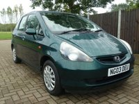 USED 2003 03 HONDA JAZZ 1.3 DSI SE 5d 82 BHP WHOLESALE DIVISION