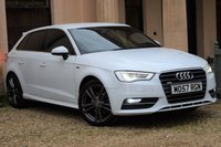 USED 2014 57 AUDI A3 1.4 TFSI S LINE 5d 121 BHP ONLY 26K + HEATED SEATS + CRUISE + DAB + PRIVACY GLASS + BT + A/C