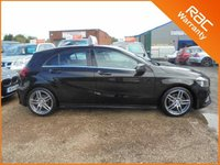 USED 2015 65 MERCEDES-BENZ A CLASS 2.1 A 200 D AMG LINE EXECUTIVE 5dr 135 BHP FINANCE WITH NO DEPOSIT AND NOTHING TO PAY FOR 2 MONTHS ALL MERCEDES BENZ AMG LINE EXECUTIVE EDITION PACK FACTORY FITTED EXTRAS FULLY LOADED MEGA SPEC