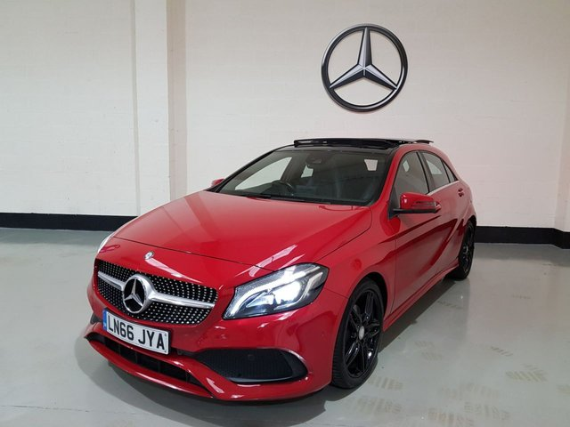 USED 2016 66 MERCEDES-BENZ A CLASS 1.5 A 180 D AMG LINE PREMIUM PLUS 5d AUTO 107 BHP Panoramic Sunroof/Sports Seats/ Sat-Nav/Camera/ 1 Owner