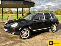 USED 2005 05 PORSCHE CAYENNE 3.2 V6 TIPTRONIC AUTO 250 BHP 5 DR ESTATE UPGRADED EXHAUST*SAT NAV*