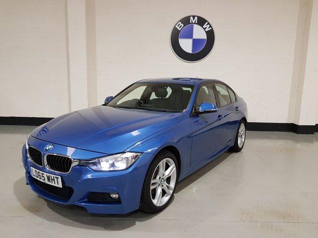 USED 2015 65 BMW 3 SERIES 2.0 320D M SPORT 4d 188 BHP 1 Owner/Leather Seats/Sat-Nav/Rear Park Sensors