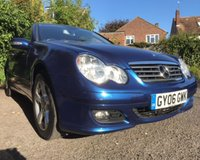 2006 MERCEDES C-CLASS C180 KOMPRESSOR SE SPORTS £2990.00