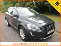USED 2016 16 VOLVO XC60 2.4 D5 SE LUX NAV AWD 5d AUTO 217 BHP.*ULEZ COMPLIANT*LEATHER*SAT NAV* Fantastic One Owner Top Spec Volvo XC60 SE LUX Automatic with Full Leather, Satellite Navigation,  Climate Control, Cruise Control, Alloy Wheels and Volvo Service History.  This Vehicle is ULEZ Compliant