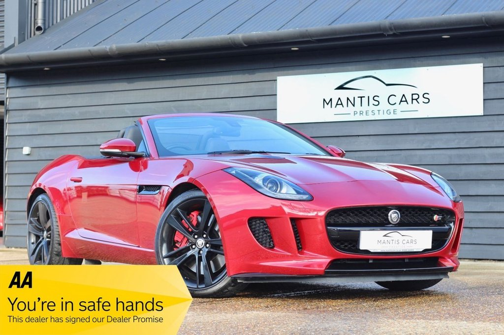 USED 2013 X JAGUAR F-TYPE 3.0 V6 S 2d AUTO 380 BHP BUY NOW | DON'T PAY UNTIL 2020