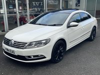 2014 VOLKSWAGEN CC 2.0 GT TDI BLUEMOTION TECHNOLOGY DSG 4 DOOR COUPE AUTO 138 BHP £10990.00
