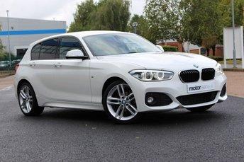 2016 BMW 1 SERIES 1.5 116D M SPORT 5d 114 BHP £10695.00
