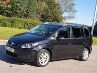 2014 VOLKSWAGEN TOURAN 2.0 SE TDI BLUEMOTION TECHNOLOGY DSG 5d AUTO 138 BHP SOLD