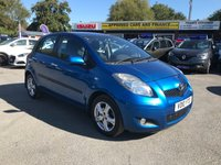 2010 TOYOTA YARIS 1.3 TR VVT-I 5d 99 BHP IN METALLIC BLUE WITH 82,000 MILES AND A FULL SERVICE HISTORY!  ( ULEZ COMPLIANT ) £2999.00