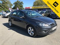 USED 2011 61 FORD FOCUS 1.8 ZETEC 5d 125 BHP IN METALLIC GREY WITH 81,500 MILES AND A SERVICE HISTORY  (ULEZ COMPLAINT) APPROVED CARS AND FINANCE ARE PLEASED TO OFFER THIS FORD FOCUS 1.8 ZETEC 5 DOOR 125 BHP IN METALLIC GREY WITH 81,500 MILES AND A SERVICE HISTORY. THIS VEHICLE HAS GOT A GREAT SPEC SUCH AS AUX, AIR CONDITIONING, ALLOY WHEELS, ELECTRIC WINDOWS, ELECTRIC MIRRORS, RADIO, HEATED FRONT SCREEN, HEATED REAR SCREEN AND MUCH MORE. THIS IS A PERFECT FAMILY CAR WITH THIS VEHICLE BEING VERY ECONOMICAL ALSO THE VEHICLE IS ULEZ COMPLIANT, NO CHARGE IN LONDON!